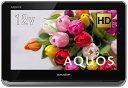 シャープ AQUOS ポータブルテレビ ハイビジョン HDD内蔵 12V型 ホワイト 2T-C12AP-W