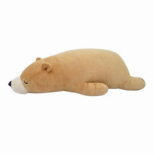 抱き枕 ぬいぐるみ りぶはあと ねむねむ プレミアム抱きまくら Lサイズ ベージュ クマのクッキー