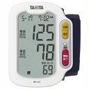 ショッピング血圧計 血圧計 手首式 簡単操作 ホワイト タニタ BP-213