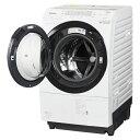 ドラム式洗濯乾燥機 クリスタルホワイト 左開き 洗濯/乾燥容...
