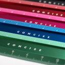 アルミフラットスケール 15cm デザイン文具 事務用品 製図 法人 領収書【10P20Nov15】