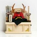 真田幸村【木製 兜飾り】五月人形 コンパクト 兜 小さい ミニ 木製兜 木