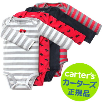 New autumn/winter 2013 ★ peace of Carter's genuine (Carter's) long-sleeved body suit 4-disc set Daddy's Big Guy 2013 romper / Bodysuit