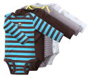 Reason ant special price ★ Carter's [Class four pieces of Carter's 】★ long sleeves body suits set (Big Guy) size:] 24M