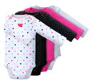 Reason ant special price ★ Carter's [Class four pieces of Carter's 】★ long sleeves body suits set (Big Heart) size:] 24M