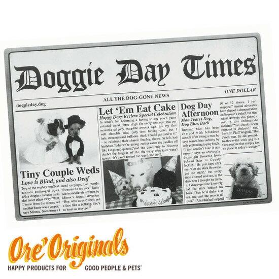 OREオリジナルスOREOriginals犬用食事マット(DoggieDayTimes)ランチョンマ