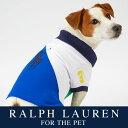 ラルフローレン【Ralph Lauren】犬用 ポロシャツ(Color Block デザイン)