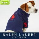 ラルフローレン【Ralph Lauren】犬用 ポロシャツ(Big Pony Navy デザイン)