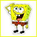 メール便可【スポンジボブ】SPBST22 ポーズ miniステッカー /防水加工 シール バッグ ナップサック ランチバッグ パスケース ストラップ キャラクター グッズ ミニオン ミニオンズ