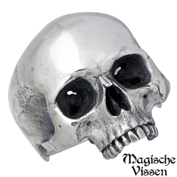 Magische Vissen 【マジェスフィッセン】 シルバー リング スカル 指輪 10~25号 シルバーアクセサリー シルバー925 【送料無料】 Magische Vissen マジェスフィッセン シルバー リング スカル