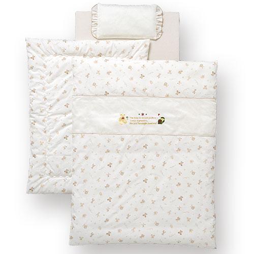 ベビーふとん・組布団(セット)ミニふとんG(ミニベッド用)ベビー布団ミニセット日本製ベビー寝具