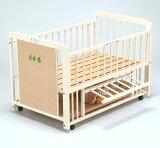 """生态安全的婴儿床油漆日本制造★★!赛普拉斯楼炉篦规格。 [销售] [特价]""""3WAY桧林地上篦"""",在生态圈中,机架!一个长寿命约3☆☆1婴儿床[【『3WAY フォレスト エコ ひのきすのこ床板』日本製 ベビーベッド 1台3役"""