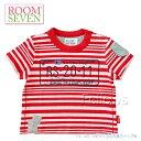 ROOM SEVEN ルームセブン 【Taylor t-shirt】 Tシャツ[レッドボーダー] サイズ:74(1歳)・86(2-3歳)