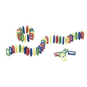 カラフルドミノ 50P おもちゃ 玩具 楽しい キッズ 子