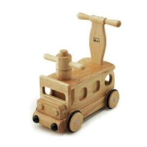 木's 乗用ブーブー 2個セット 天然木 自働車タイプ 押