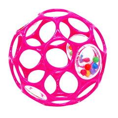 オーボール ラトル ピンク*rhinotoys(リノトーイ)* ,0歳からのおもちゃ,赤ちゃんのオモチャ,おすすめ