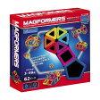 【送料無料】【箱付】幾何学マグネットブロック マグフォーマー62ピース MF62 *Bornelund(ボーネルンド)*【10P01Oct16】