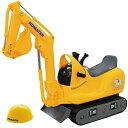乗用マイクロショベル コマツPC01 足けり乗用玩具 子供用 乗り物 働く車 シャベル PC-01【トイコー】