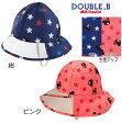 miki house/ミキハウス【DOUBLE-B/ダブルビー】レインハット 雨用帽子♪S-L(46-56cm)ブラックベア・ベアガール/紺・ピンク お揃いのレインコートもあるよ♪