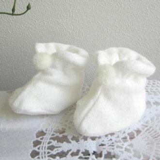 也短靴一壘鞋新生兒供小孩使用的的出院時是63909白
