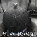 铁瓶 - 南部鉄器 鉄瓶 日本製 0.8L てまり 直火 ホーローなし 及春鋳造所
