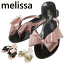 【クーポンで店内全品5%オフ】 Melissa サンダル メリッサ ラバーシューズ Harmonic Bow III 【 31870 】 靴 ラバーシューズ フラット サンダル トングサンダル ぺたんこ リボン レディース メリッサ ラバーシューズ ジグザグ melissa 靴