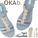 オカビー OKA b. マッケンナ Tストラップ McKenna Sandal サンダル トングサンダル 靴 ビーチサンダル 歩きやすい 疲れにくい フラットシューズ ビーチ リゾート ギフト ビーチサンダル