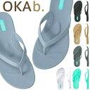 ショッピングオカビー OKA b. オカビー ビーチサンダル Millie Flip Flopサンダル トングサンダル 靴 ビーサン 歩きやすい 疲れにくい フラットシューズ ビーチ リゾート ギフト ビーチサンダル