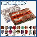 【先着150名限定☆フラッシュクーポン! 】 ペンドルトン ブランケット [ XB233 ] ジャガード タオルブランケット Pendleton JACQUAR...