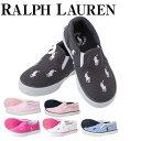 ポロ ラルフ ローレン Polo Ralph Lauren バル ハーバー リピート ラルフローレン スニーカー キッズ 靴 男の子 女の子