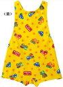 【ゆうパケット選択可】ミキハウス・UVカット対応・働く車☆グレコ水着【12-7101-952】黄色子供用