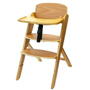 【B品】ヤトミ 木製 ハイチェア ヒューマンネクストV 《テーブル付き♪》ワンタッチ 折り畳み おりたたみ【ST】【あす楽対応】