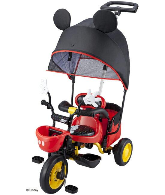 アイデス カーゴ サンシェード ミッキーマウス 【1182】三輪車 ides【AZ☆】
