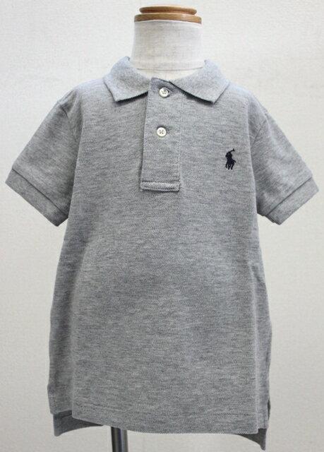 【ラルフローレン】Ralph Lauren  ポロシャツ [グレー]【あす楽対応】