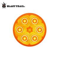 4インチ ラウンド型LED オレンジ 【品番 STL13AB】の画像