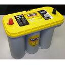 【在庫限り】OPTIMA/オプティマ Yellow TOP SERIES BATTERIS/イエロートップシリーズバッテリー D1400S 【YTS-5.5L】【バッテリー/..