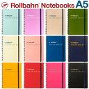 ロルバーン A5 ノート ポケット付メモ デルフォニックス メモ帳 The Rollbahn Grid Notebook A5 from DELFONICS