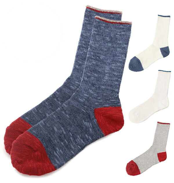 リブソックス スモールストーンソックス SMALL STONE SOCKS ソックス 靴下 日本製 切り替えソックス 定番 霜降り模様 スラブ リブクルーソックス クルーソックス 配色 配色切り替え 切り替え リブ編み おしゃれ メンズ レディース ハイソックス r151218009 so-1104