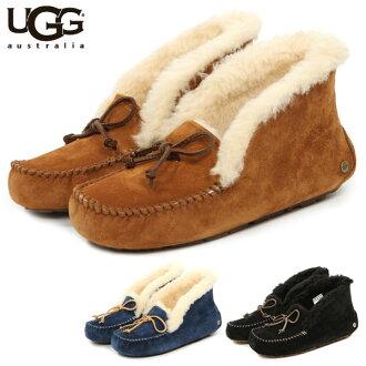 UGG 莫卡辛店 / 真正特色的 AGU 經典 ugg 靴子莫卡辛鞋婦女毛皮蟒蛇阿競技場