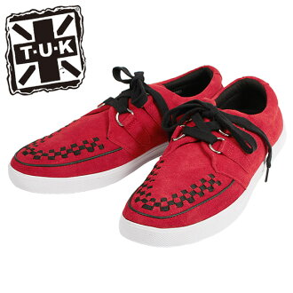 TUK sneakers A8153 beauty leg Lady's targeted for the purchase gets a present in a review two points at the same time; is recommendation for George coxswain and a ヨースケ enthusiast! It is Sneaker a flat, a lock, a Gothic system fashion deep-discount specia