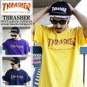 THRASHER スラッシャー Tシャツ 半袖 ペンタグラムインフェルノ メンズTシャツ 3カラー メンズ レディース 大きいサイズ 無地 ...