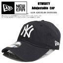 新作!!NEWERA ニューエラ キャップ ネイビー 9TWENTY ニューヨークヤンキース 6PANEL MLB NEWYORK YANKEES キャップ メンズ レディース CAP 帽子 ハット アジャスター ファッション ストリート カジュアル ロゴ あす楽