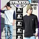 七分袖 七分丈 7分袖 7分丈 Tシャツ STARTER BLACK LA