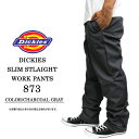 ショッピングディッキーズ Dickies ディッキーズ 873ワークパンツ チャコールグレー hiphop パンツ メンズ ストリートファッション チノパン 大きいサイズ