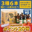 【父の日】 \ 《今だけポイント20倍↑↑》 / お父さん専用&日本一受賞クラフトビール入り3種6本飲み比べセット/特別ギフトBOX/メッセージカード付/【送料無料・早割・プレゼント・お酒・詰め合わせ・地ビール・クラフトビール】