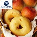 ≪季節限定≫『アップルベーグル【単品】』BAGEL&BAGEL/ベーグル/林檎/りんご/アップル/