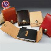 ケイシイズ KMK140-メモパッド ダブルステッチ 【KC's】 レザーグッズ メモパッド メモ帳,ポイント【RCP】