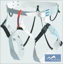 沢登りや岩稜歩き用の軽量簡易ハーネス