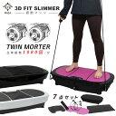 【期間限定20,800円】 3D 振動マシン フルセット 3D FIT SLIMMER フィットネス マット
