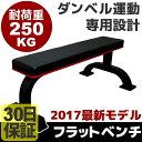 フラットベンチ ダンベルベンチ ダンベル運動専用設計【耐荷重...